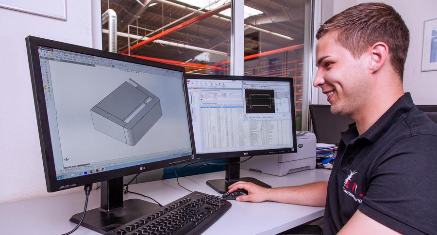 Anlieferung von CAD Daten