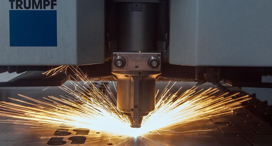 Testbild Thema Laserschneiden